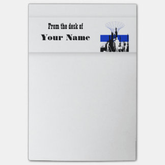 Business logo PERSONALIZE corporate Post-it® Notes