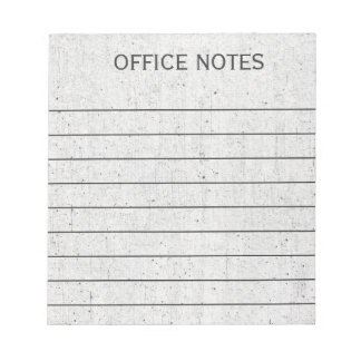 Business Office Notes
