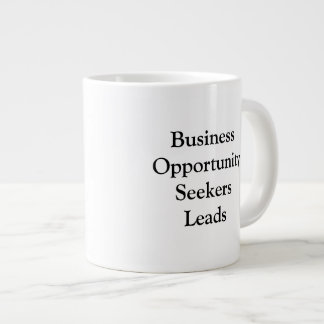 Business Opportunity Seekers Leads Mug