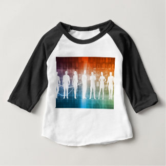 Business People Standing in a Row Confident Baby T-Shirt