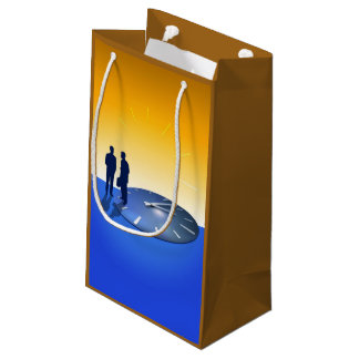 Business Talk Small Gift Bag
