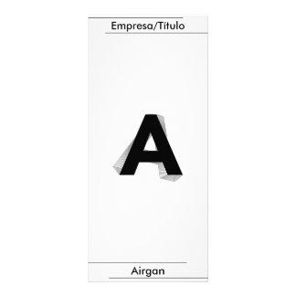 Business - To - Airgan Rack Card Template