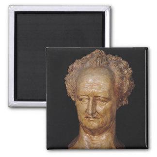 Bust of Johann Wolfgang von Goethe , 1831 Magnet