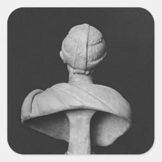 Bust of Julia Mamaea Square Sticker