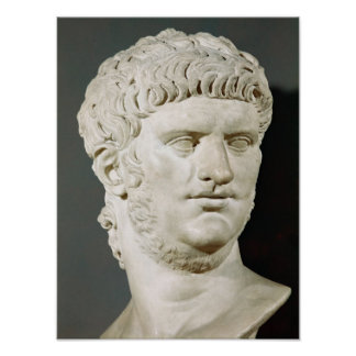 Bust of Nero Poster