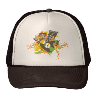 Bust Out Music T-shirts and Gifts Mesh Hat