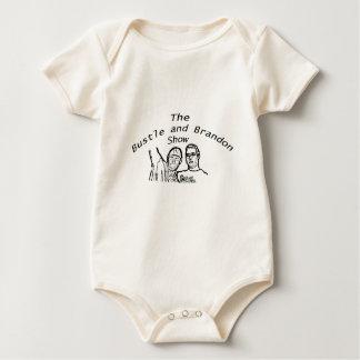 Bustle and Brandon Show Logo Baby Bodysuit