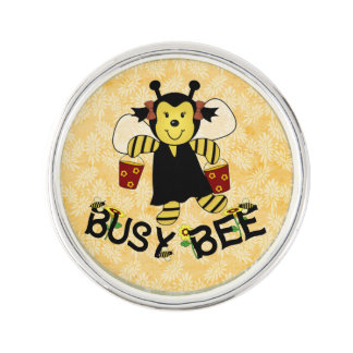 Busy Bee Lapel Pin