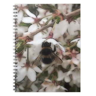 Busy Bee Notebook (80 Pages B&W)