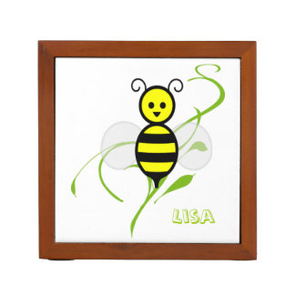 Busy Bee Personalized Desk Organizer