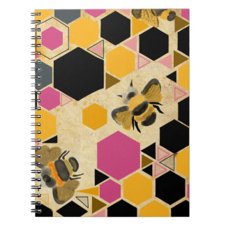 Busy Bee Photo Notebook (80 Pages B&W)