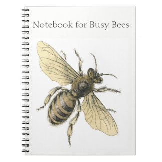 Busy Bee! Spiral Notebook