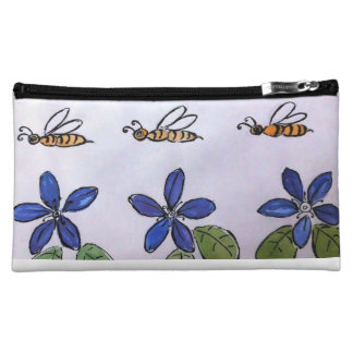 Busy Bees cosmetic purse Cosmetic Bags