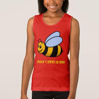 Busy Little Bee Cartoon Design Tee