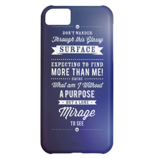 But A Lone Mirage To See... iPhone 5C Case