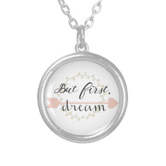 But first, Dream Silver Plated Necklace