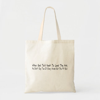 But The Pit Bull Canvas Bag