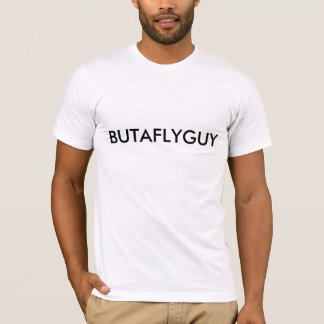 BUTAFLYGUY Short sleeve fitted T T-Shirt