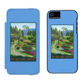Butchart Gardens - Brentwood Bay Incipio Watson™ iPhone 5 Wallet Case
