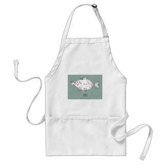 butchers cuts fish, tony fernandes apron