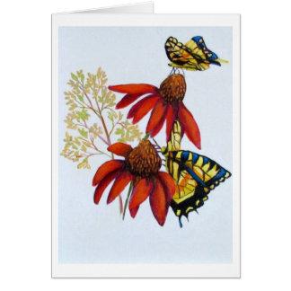 butterflies #2 note card