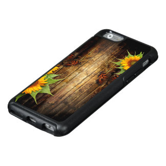 Butterflies and Sunflowers OtterBox iPhone 6 Case