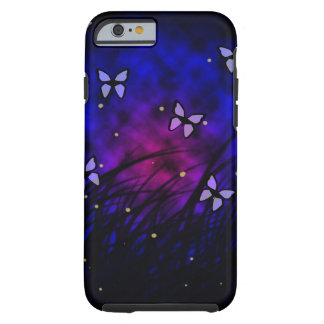 Butterflies at Night Tough iPhone 6 Case