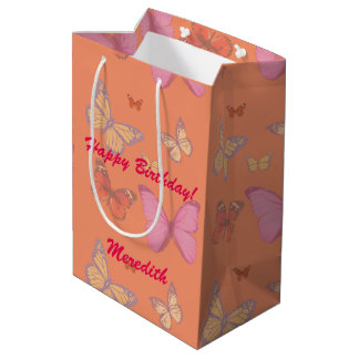 Butterflies of Any Color You Want Medium Gift Bag