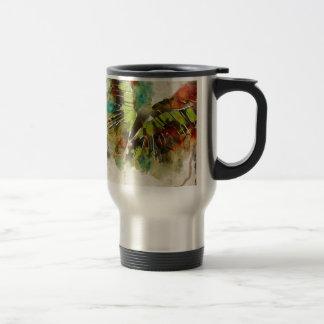 Butterfly 3 travel mug