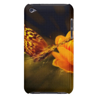 Butterfly and Flower iPod Touch Case