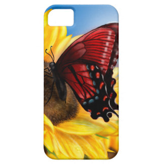 Butterfly and Sunflower Case For The iPhone 5