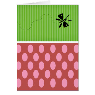 Butterfly Blessing Note Card