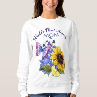 Butterfly Bouquet for Mom Sweatshirt