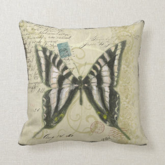 Butterfly Collage Pillow