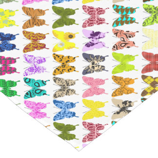 Butterfly Collage Short Table Runner