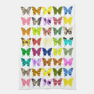 Butterfly Collage Towel