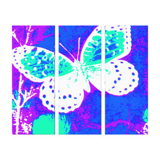 Butterfly - Colorful Canvas Print