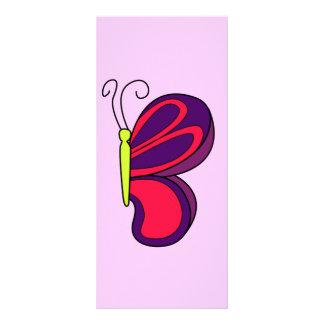 Butterfly Custom Rack Card