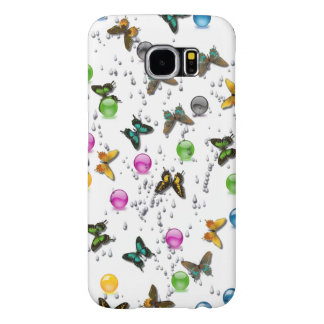 Butterfly design for Samsung S6 Samsung Galaxy S6 Cases