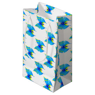 Butterfly Design Small Gift Bag