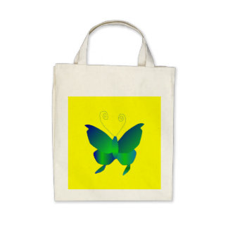Butterfly Dreams I Natural Bag
