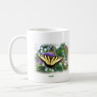 butterfly_eastern_tiger_swallowtail_b7090_Paint... Mugs