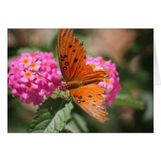 Butterfly encouragement card