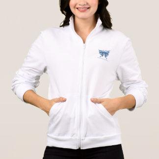 Butterfly Experience fleece coat: Shirt to design