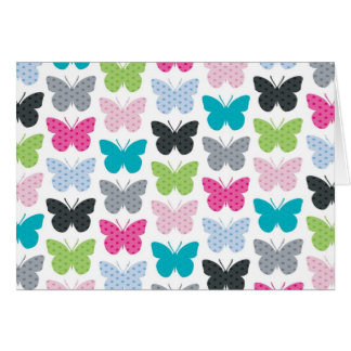 Butterfly Flight Note Card