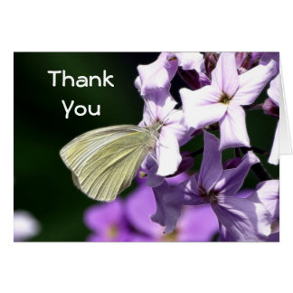 Butterfly & Flowers Gifts Card