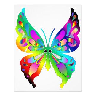 Butterfly 21.5 Cm X 28 Cm Flyer
