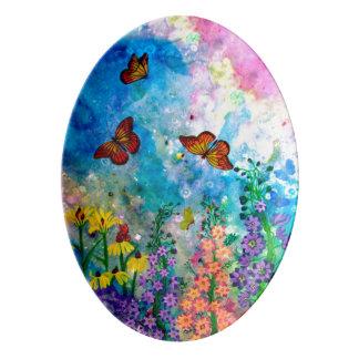Butterfly Garden (Portrait) Serving Platter