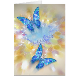Butterfly Gems Note Card