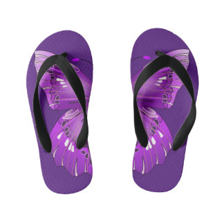 Butterfly Kid's Jandals